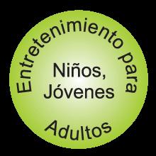 Entretenimiento niños jovenes adultos